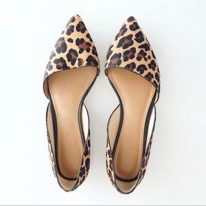J.crew leopard Zoe calf hair d'Orsay flats 6